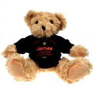 Personalised 21st Birthday Light Brown Teddy Bear