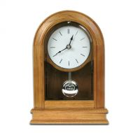 25th Wedding Anniversary Oak Clock