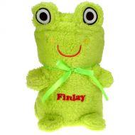 Soft Cuddly Frog Baby Blanket