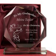 Personalised My Godmother Cut Glass Award