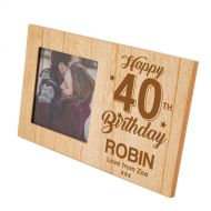40th Birthday Photo Frame