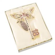 18th Birthday Butterfly Key - Pink
