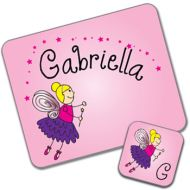 Fairy Design Placemat and Coaster Set