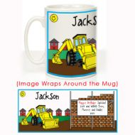 Yellow Digger Message Mug