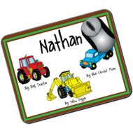 Personalised Kids Mousemat: Construction Design