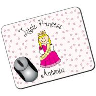 Personalised Kids Mousemat: Little Princess Design