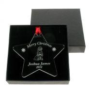 Personalised Christmas Santa Bauble