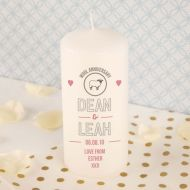 Wool Anniversary Candle