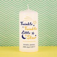 Twinkle Twinkle Little Star Candle