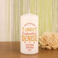 Lovely Godmother Candle