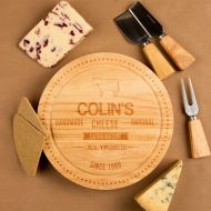 Engraved Handmade Cheese Design Cheeseboard