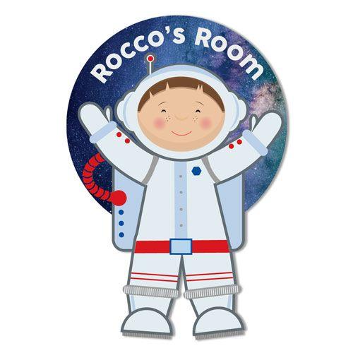 Astronaut Personalised Door Plaque