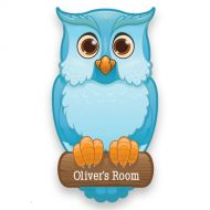 Blue Owl Door Plate