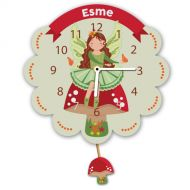 Personalised Fairy Pendulum Wall Clock