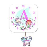 Alphabet Fairy Wall Clock