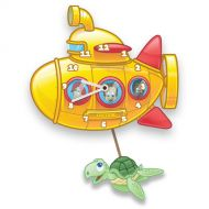 Yellow Submarine Kids Wall Clock