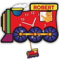 Personalised Steam Train Wall Clock