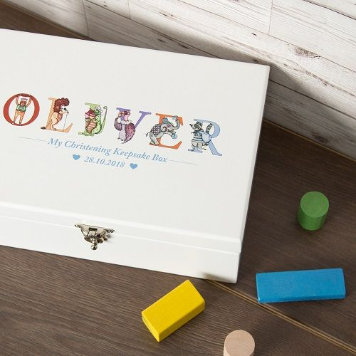 Birth Certificate Box White With Bears Baby Baby Gift Keepsake To Adopt Advanced Technology