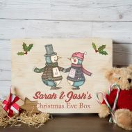 Dancing Penguins Couples Xmas Eve Box