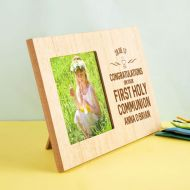 Laser Engraved Wooden Communion Frame