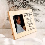 Daily Bread Wooden Communion Frame