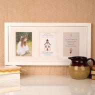 Premium Illustrated First Communion Wall Frame: Church Design
