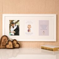 Premium Illustrated First Communion Wall Frame: Eucharist Design