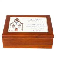 Church First Holy Communion Jewellery Box