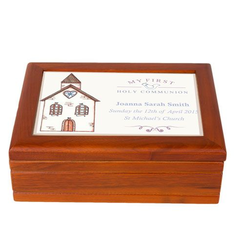 Church First Holy Communion Jewellery Box