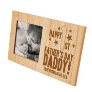 Happy First Father's Day Photo Frame