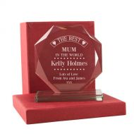 Personalised Best Mum Presentation Gift