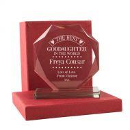 Personalised Best Goddaughter Presentation Gift
