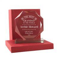 Personalised Best Grandad Presentation Gift