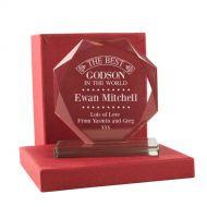 Personalised Best Godson Presentation Gift