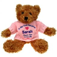 Brown Teddy Bear: God Daughter