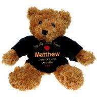 Brown Teddy Bear: God Son