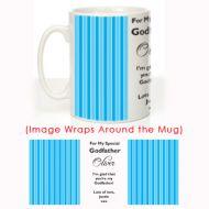 My Special Godfather: Christening Mug