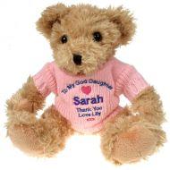 Light Brown Teddy Bear: God Daughter