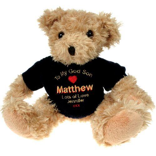 Light Brown Teddy Bear: God Son