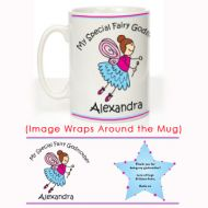 Special Fairy Godmother Mug: Christening Gift