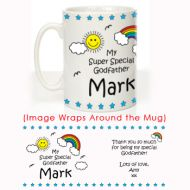 My Super Special Godfather Mug: Christening Gift