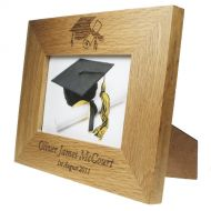 Oak Graduation Photo Frame