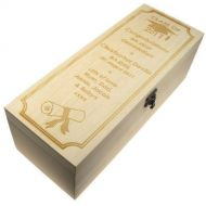 Personalised Graduation Champagne Box with Class Year