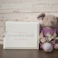 Naming Day Personalised Jewellery Box for a Little Girl