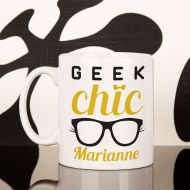 Geek Chic Personalised Mug for Her