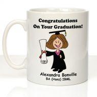 Personalised Graduation Mug For Her