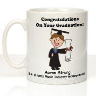 Personalised Graduation Mug For Him
