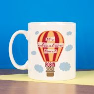 Personalised Adventure Hot Air Balloon Mug