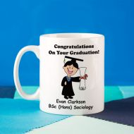 Personalised Graduation Mug For Him