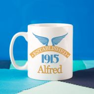 100th Birthday Established Since Mug For Him